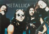 Metallica - 'Group Blue' Postcard